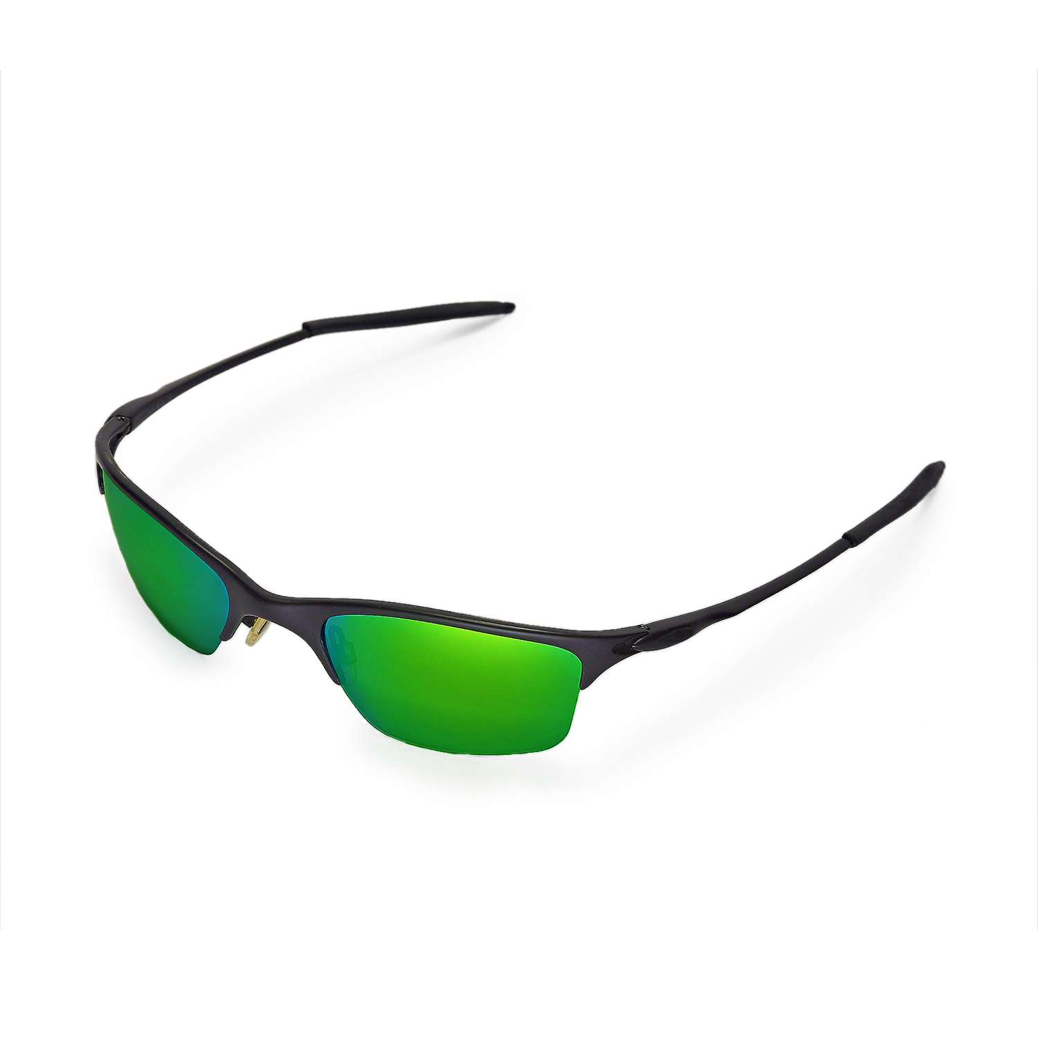 86355c12e28 New WL Polarized Emerald Replacement Lenses For Oakley Half Wire XL  Sunglasses 639725111885