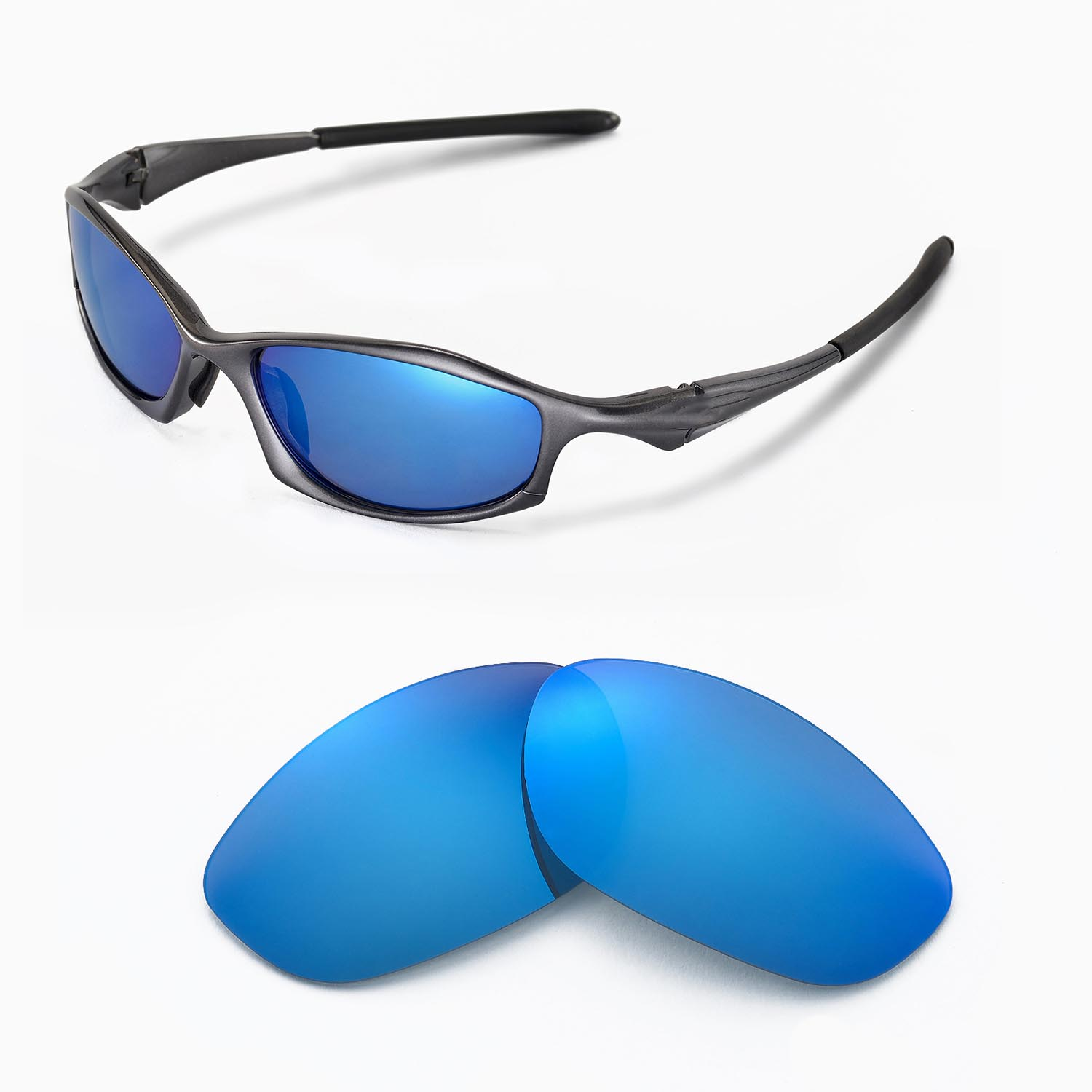 048f6fc94d New WL Polarized Ice Blue Replacement Lenses For Oakley Hatchet Wire ...