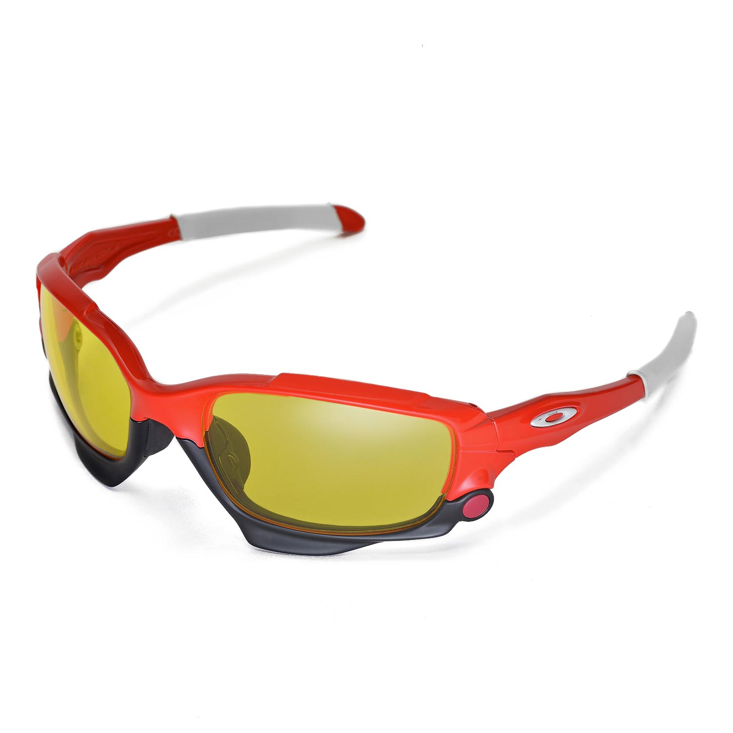 88230e136d Details about New Walleva Yellow Replacement Lenses For Oakley Racing  Jacket Sunglasses