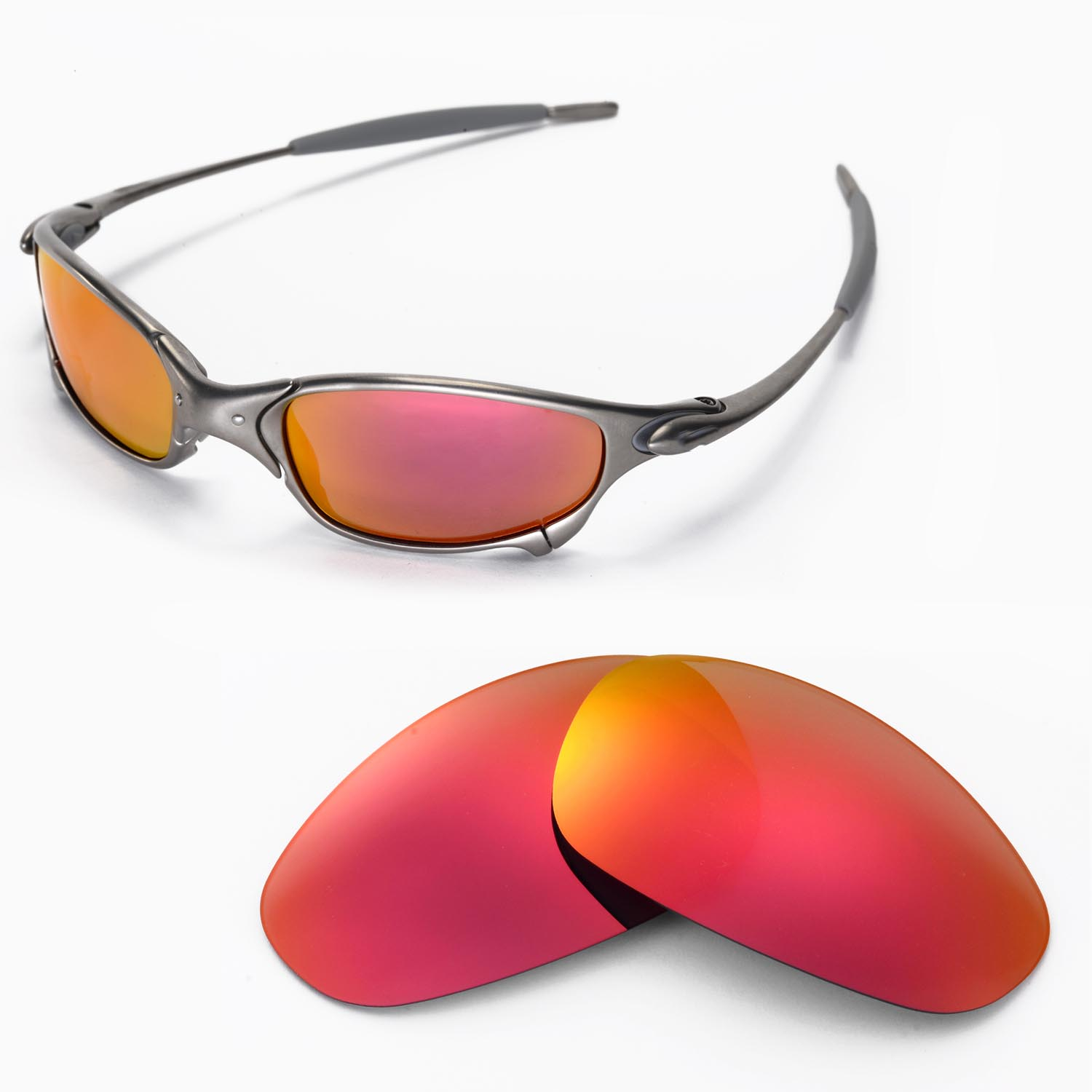 d289e7cdd1 Walleva Replacement Lenses For Oakley Juliet Sunglasses - Multiple Options  Auctions - Buy And ..
