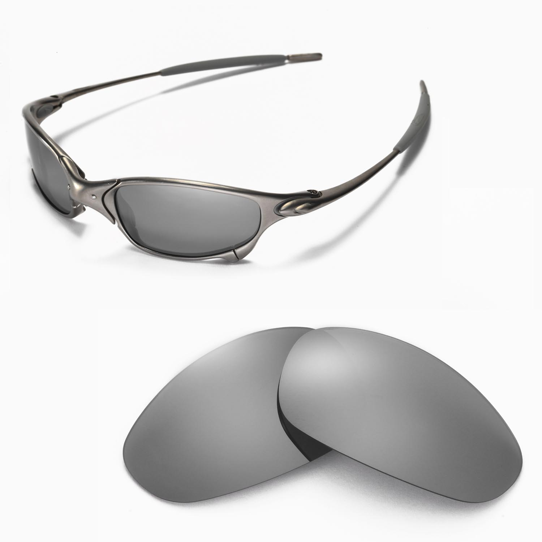 e629ca8ce3 New Walleva Polarized Titanium Lenses For Oakley Juliet 661799386098 ...