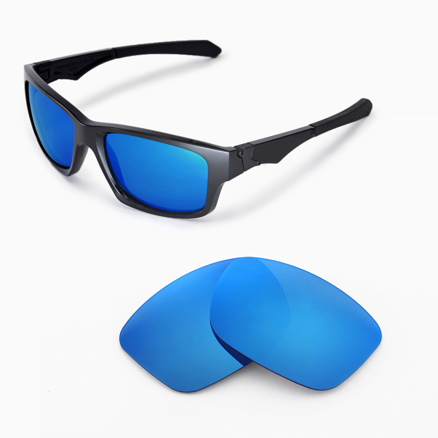 oakley jupiter squared blue and white