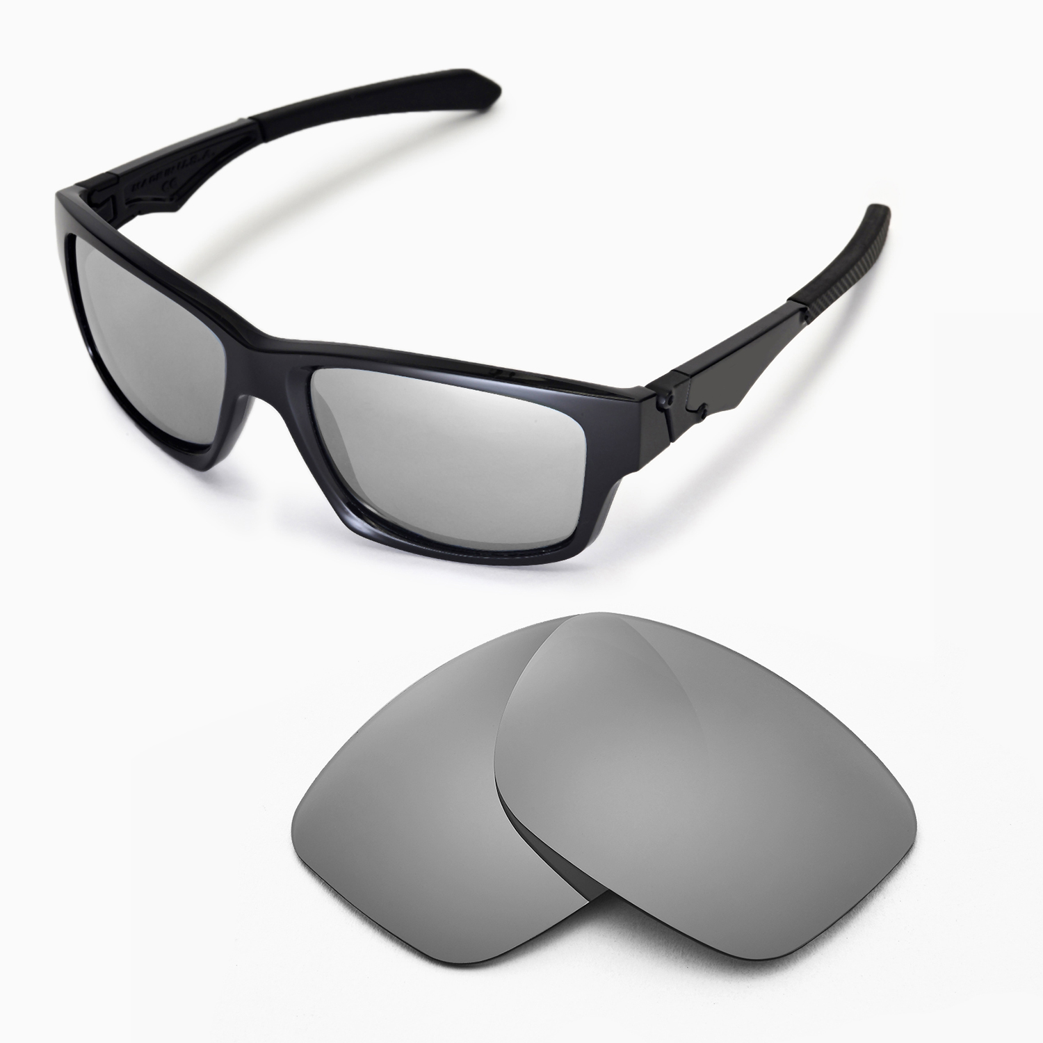 4292140ee4 Details about WL Polarized Titanium Replacement Lenses For Oakley Jupiter  Squared Sunglasses