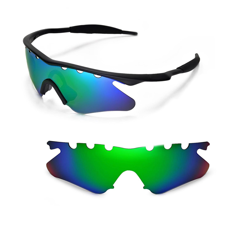 New WL Polarized Emerald Vented Sunglasses Lenses For Oakley M Frame ...