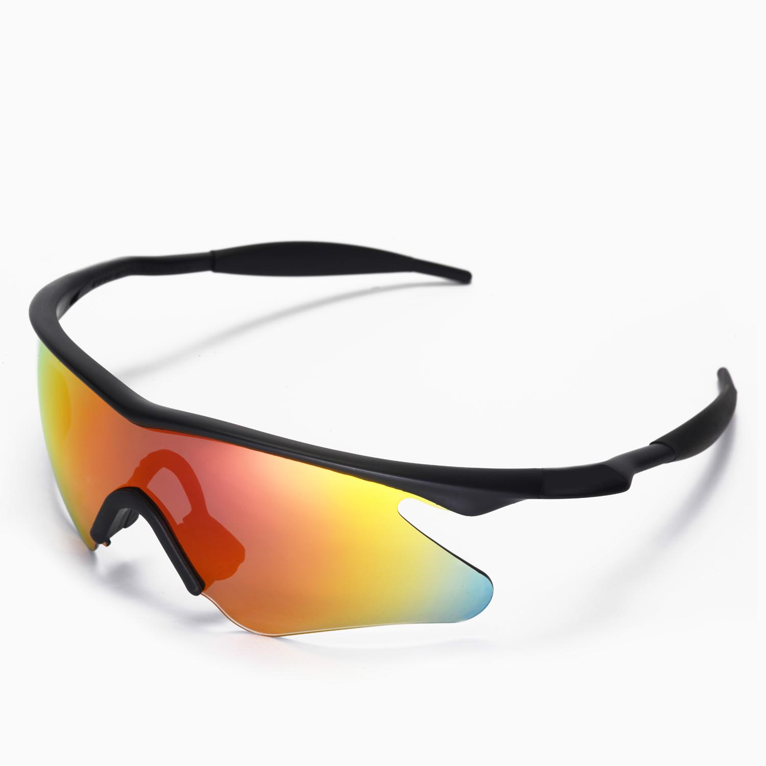 new walleva polarized fire red lenses for oakley m frame heater - M Frame Lenses