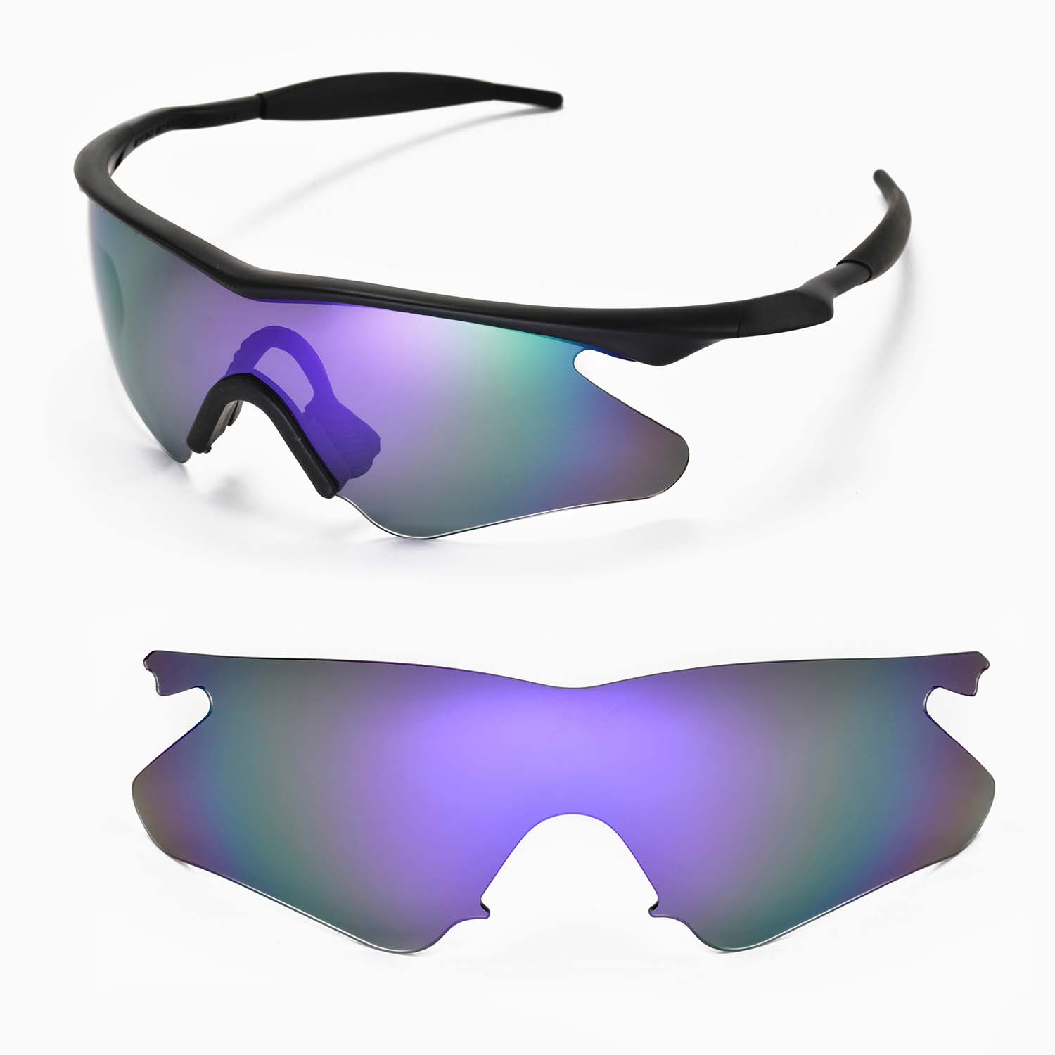 new wl polarized purple sunglasses lenses for oakley m frame heater rh ebay com