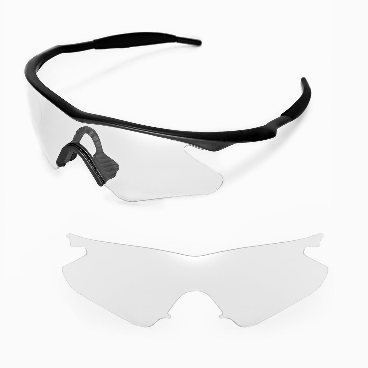 New Walleva Clear Replacement Lenses For Oakley M Frame Heater ...