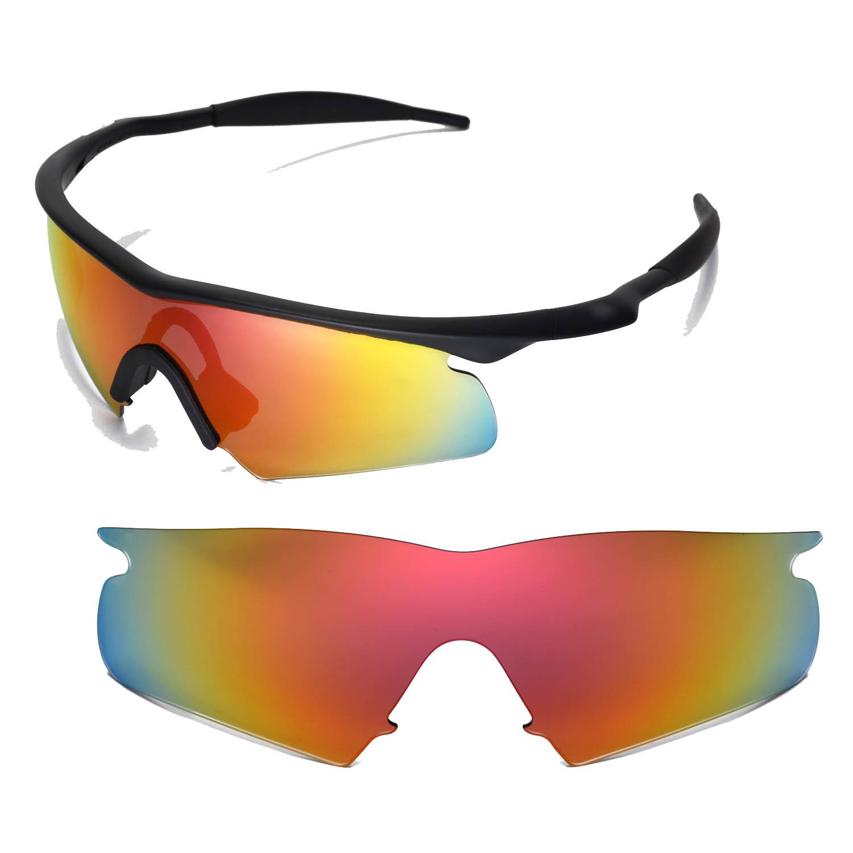Walleva Replacement Lenses for Oakley M Frame Hybrid Sunglasses ...
