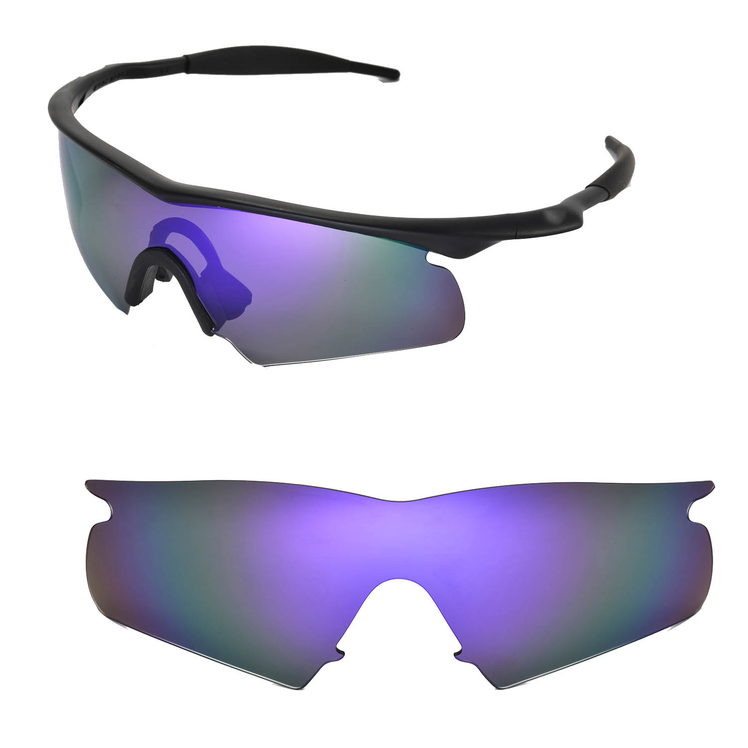 eb1db721437 Walleva Replacement Lenses For Oakley M Frame Hybrid Sunglasses-multiple  Options Auctions - Buy .