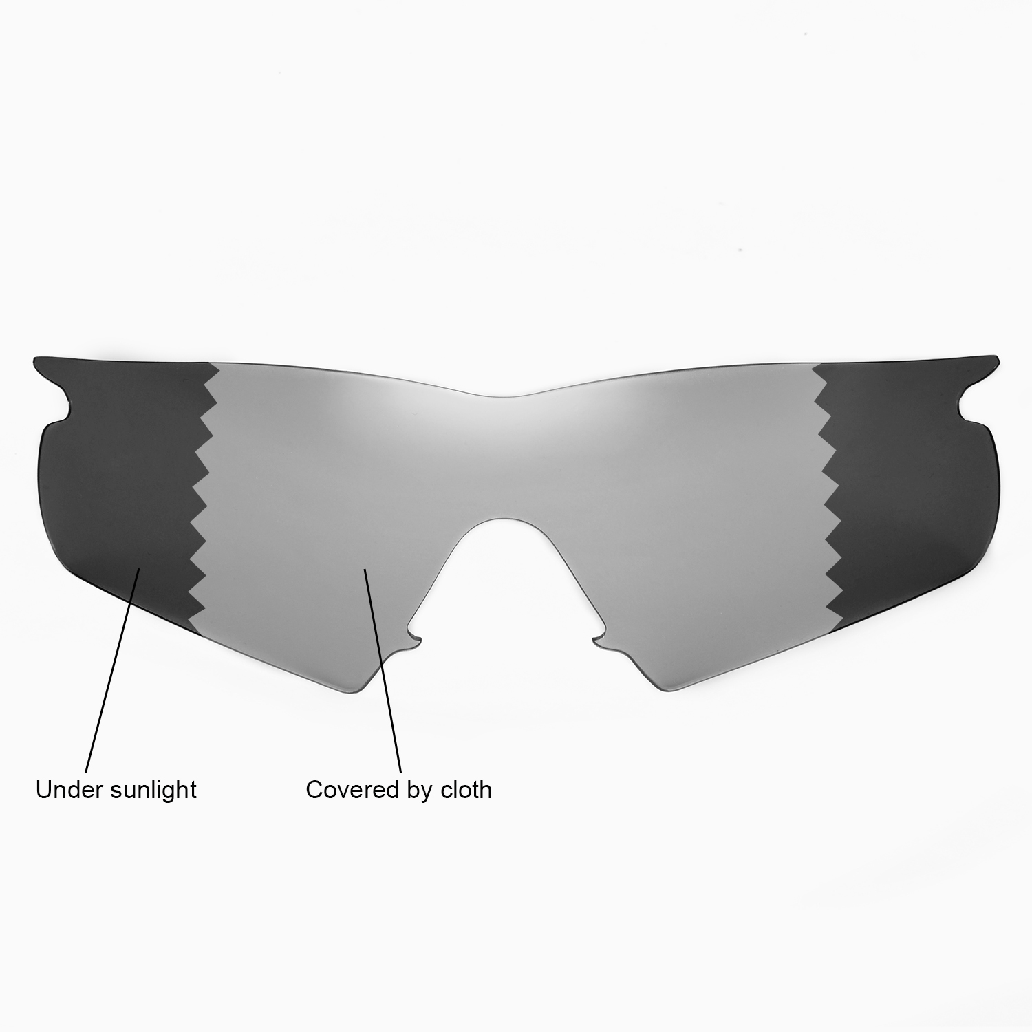 f26e2e19ed0 Details about Walleva Polarized Transition Lenses and Black rubber kit 4  Oakley M Frame Hybrid