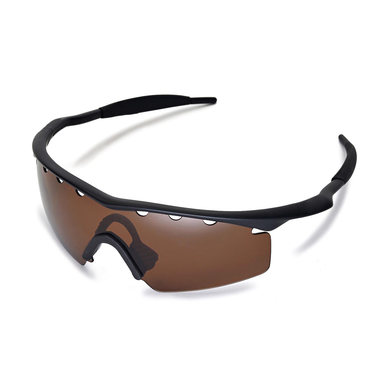 f50ae3d8b3 ... low price walleva polarized brown vented lenses for oakley m frame  strike x1 walleva microfiber lens