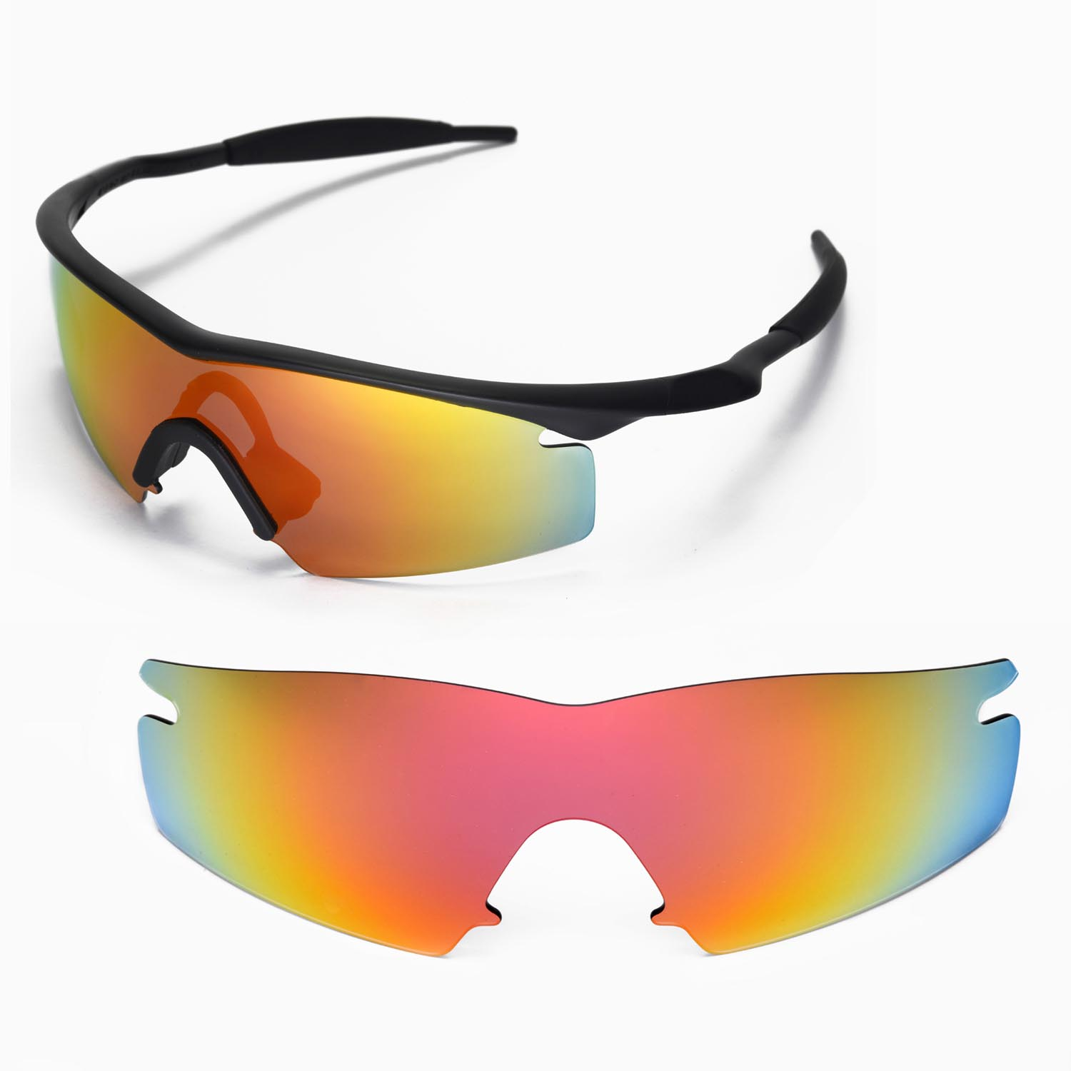 Walleva Replacement Lenses For Oakley M Frame Strike