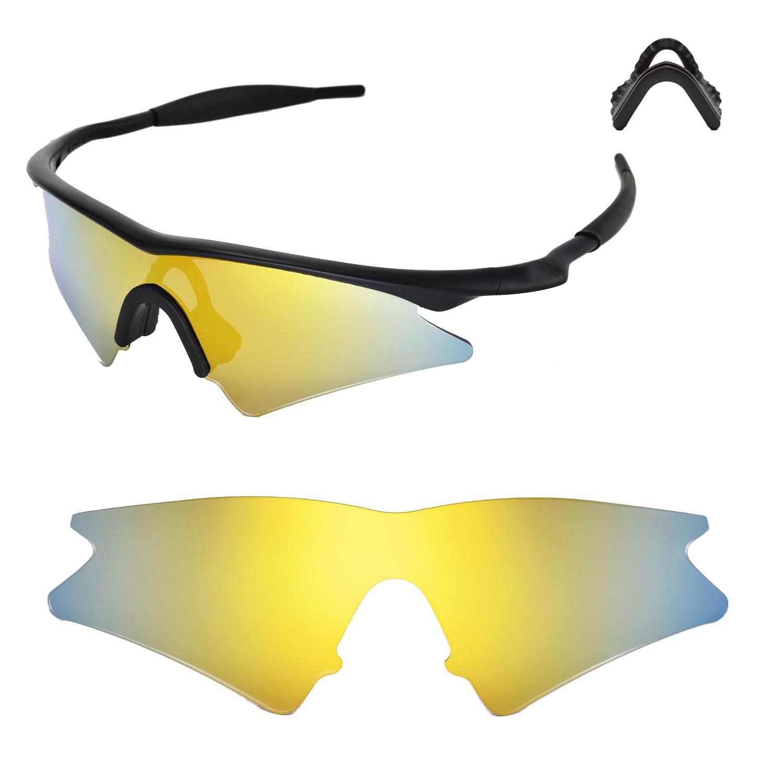 35fffde987 Walleva Lenses and Nose pad for Oakley M Frame Sweep - Multiple ...