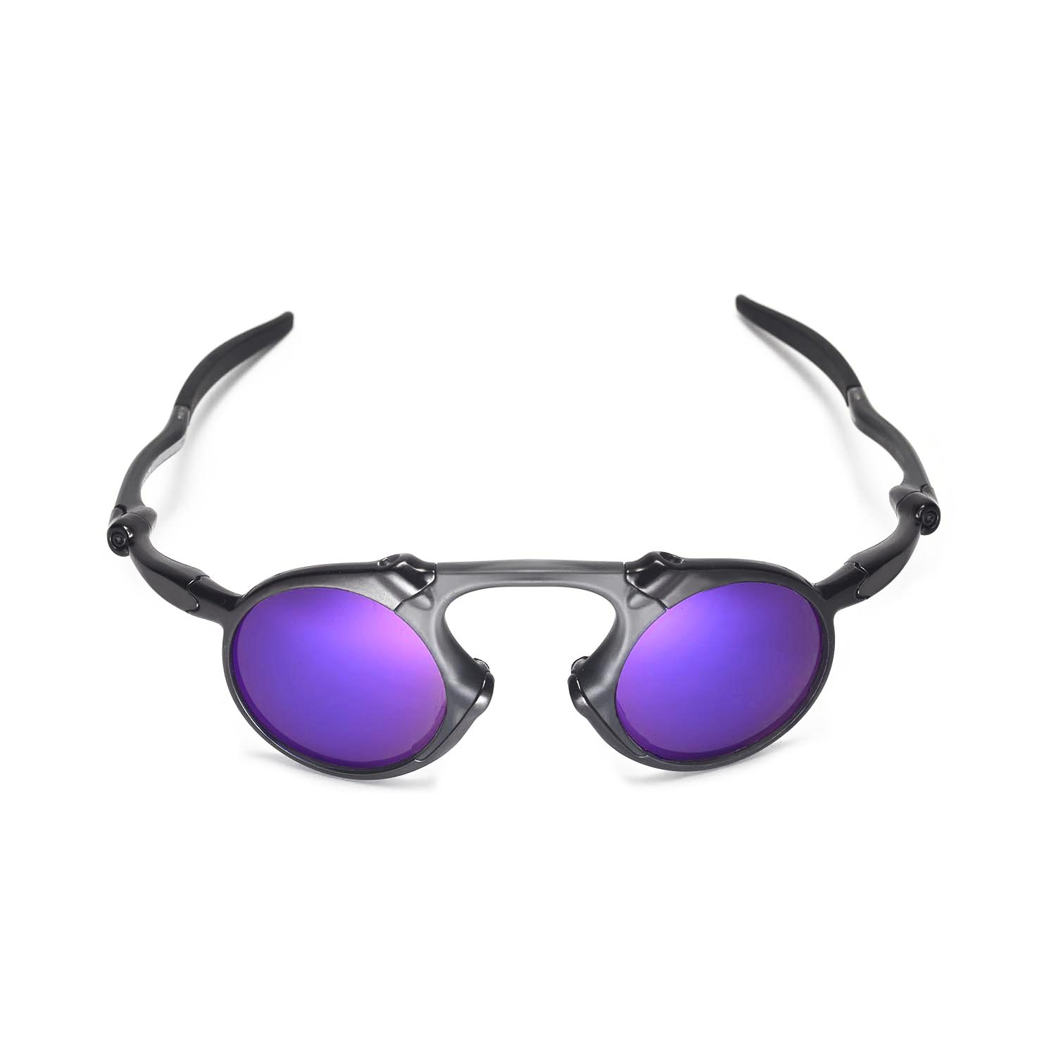 42f76d034c New Walleva Polarized Purple Replacement Lenses For Oakley Madman ...