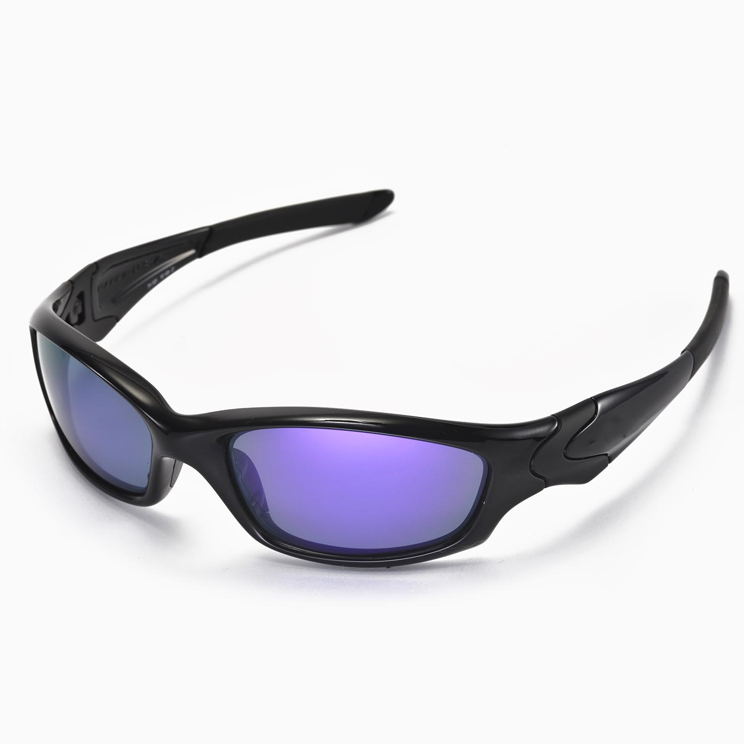 792c01a7895 Walleva Polarized Purple Lenses for Oakley Straight Jacket x1  Walleva  Microfiber Lens Cleaning Cloth x1