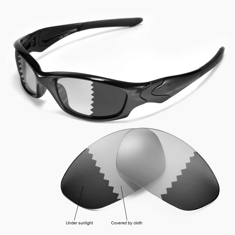 9e959b5b180 Details about New Walleva Polarized Transition Photochromic Lenses For  Oakley Straight Jacket
