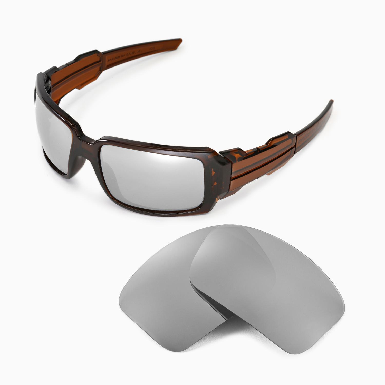 1ee4bc6089 Detalles acerca de Walleva Polarizado Titanium Lentes De Reemplazo Para  Oakley Lata De Aceite Ii Gafas De Sol- mostrar título original