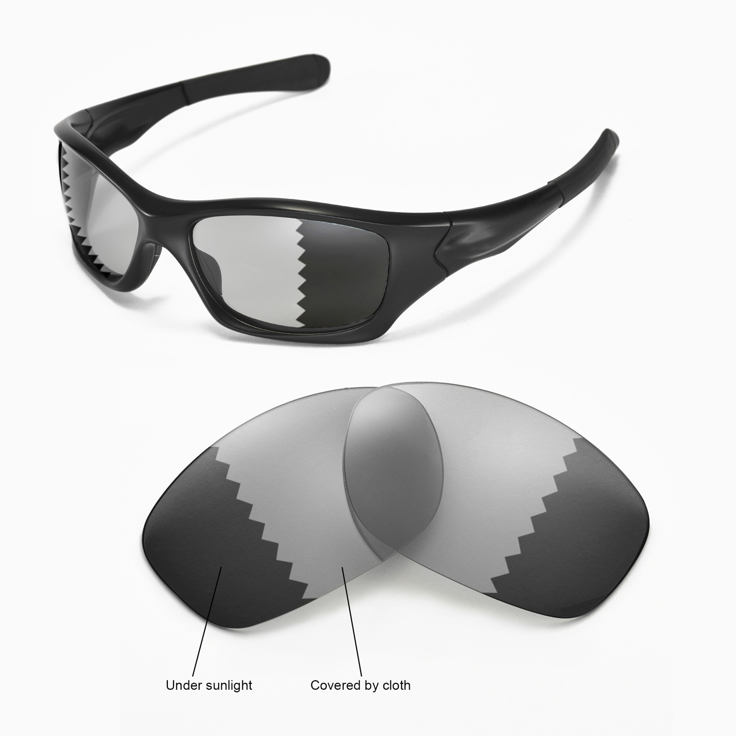 cffd44269b0 Details about New Walleva Transition Photochromic Polarized Lenses For Oakley  Pit bull. 2.3 average based on 3 product ratings. 5. 0