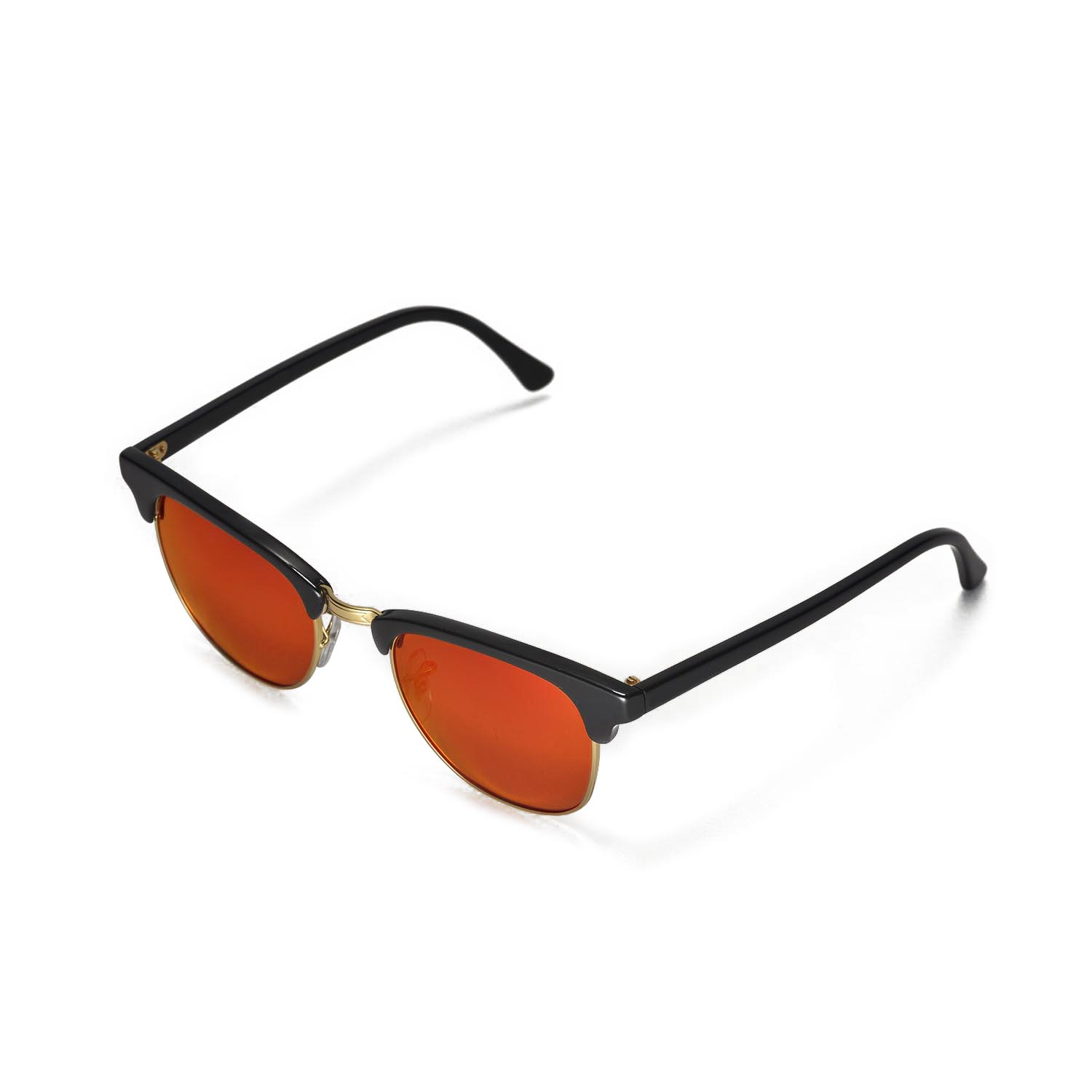 ded88a4cba ... best price walleva polarized fire red lenses for ray ban clubmaster  rb3016 49mm x1 walleva microfiber