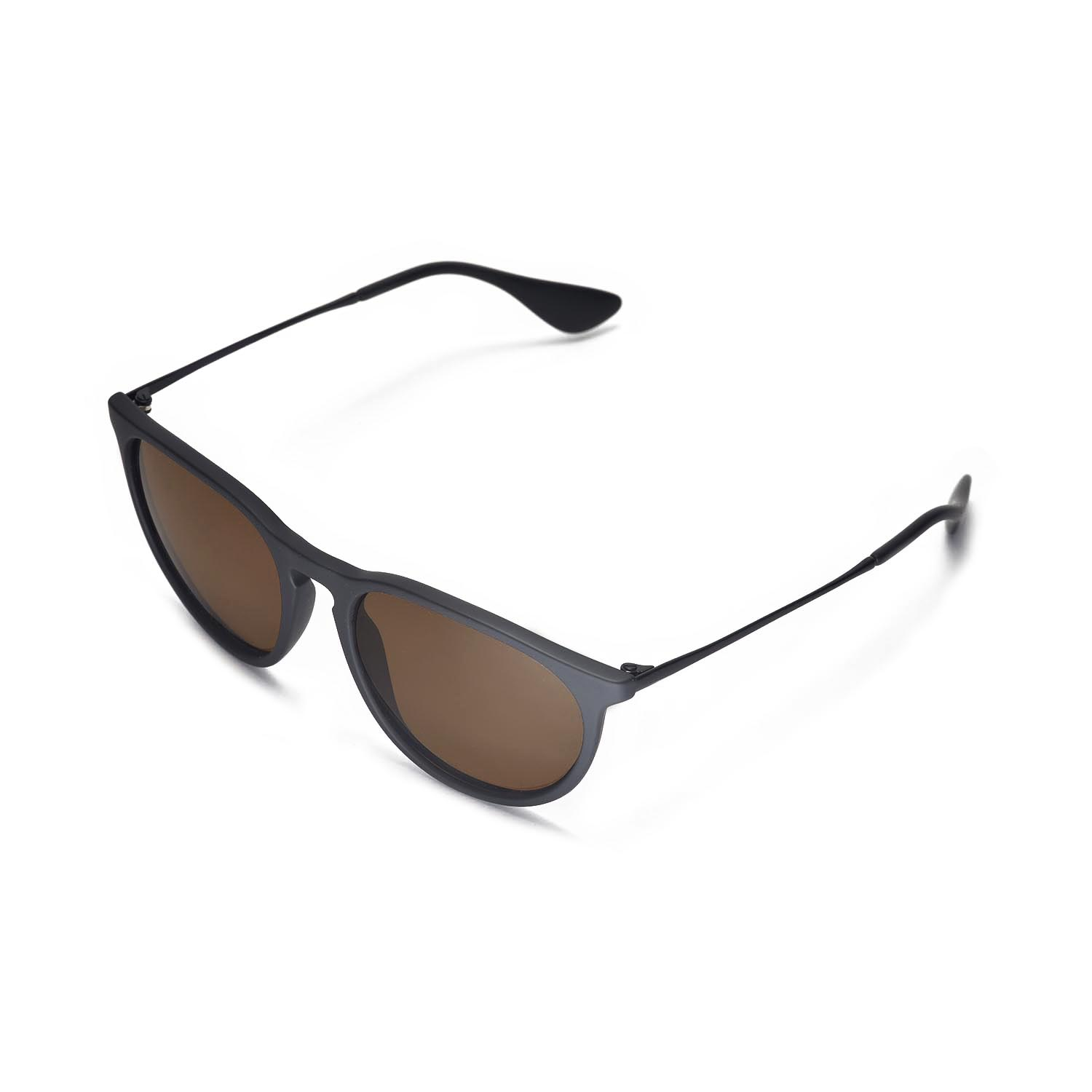 854d7f9fe54 Walleva Polarized Brown Lenses for Ray-Ban Erika RB4171 54mm x1  Walleva  Microfiber Lens Cleaning Cloth x1