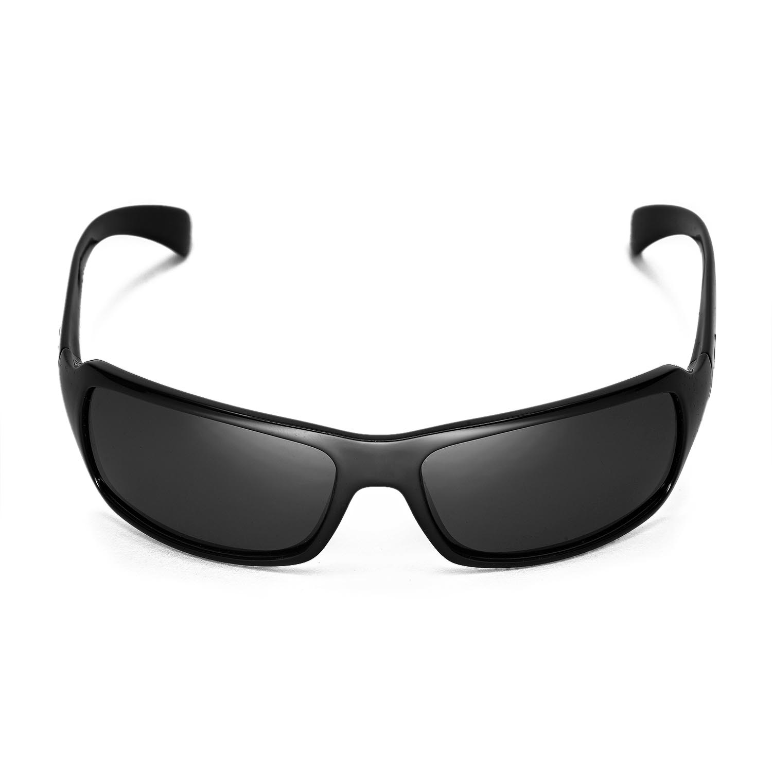 a8bca5974de Details about New Walleva Polarized Black Lenses For Ray-Ban RB4075 61mm