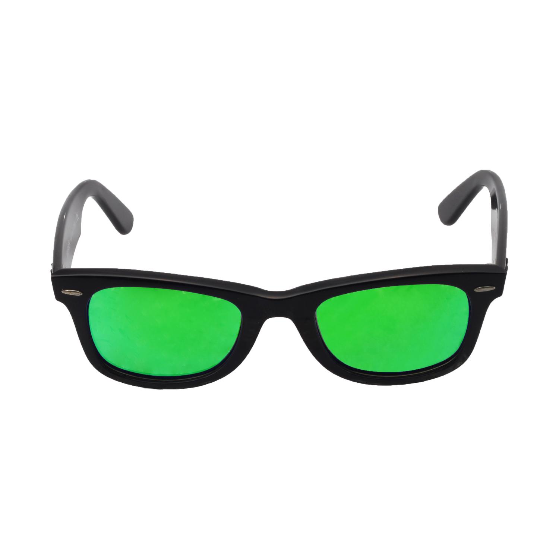 49dd2c5932 Walleva Polarized Emerald Lenses for Ray-Ban Wayfarer RB2140 50mm x1   Walleva Microfiber Lens Cleaning Cloth x1