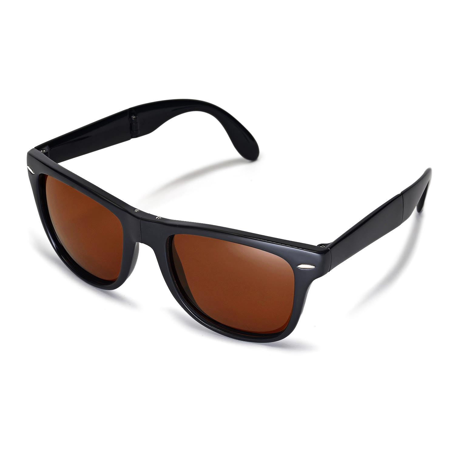 New Walleva Polarized Brown Lenses For Ray-Ban Wayfarer ...