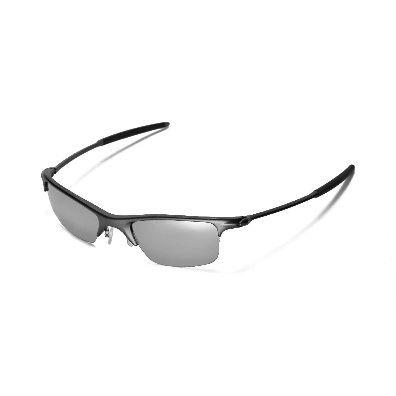9b2e79720c Walleva Polarized Titanium Lenses for Oakley Razrwire x1  Walleva  Microfiber Lens Cleaning Cloth x1