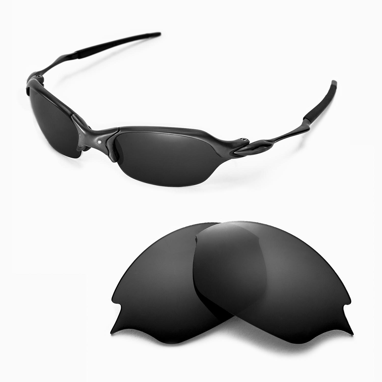 e5432fe68d New Walleva Polarized Black Replacement Lenses For Oakley Romeo 2.0 ...
