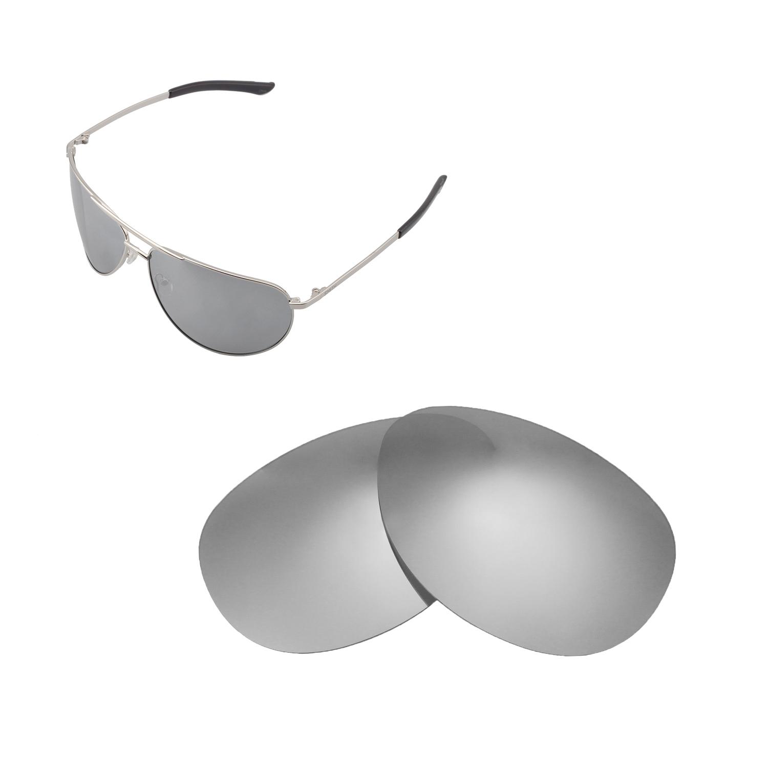 1a7fe1ebf0c Details about New Walleva Titanium Polarized Replacement Lenses For Smith  Serpico Sunglasses