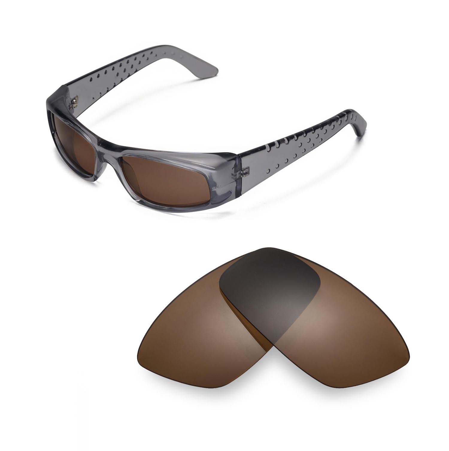 36d77daae6 Walleva Replacement Lenses for Spy Optic MC Sunglasses - Multiple ...