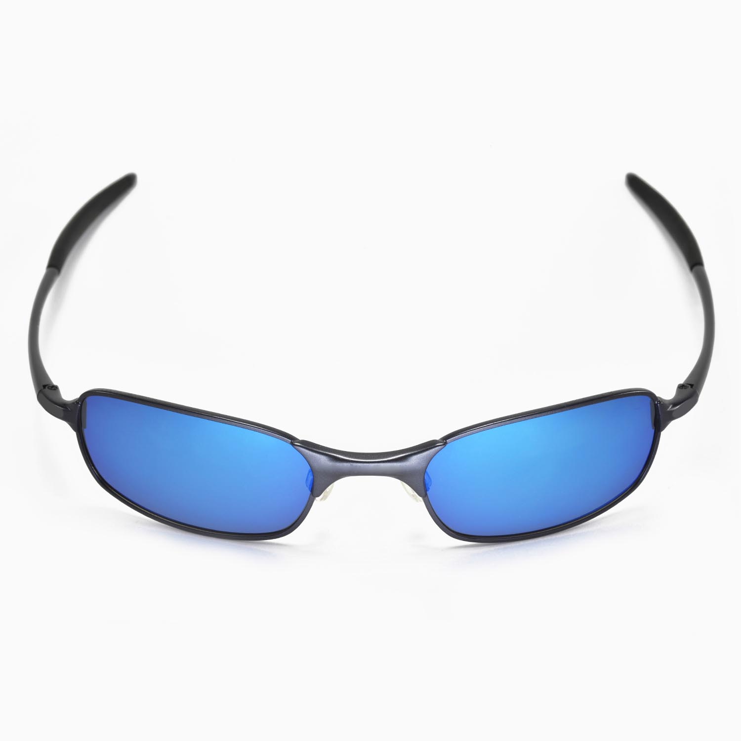 New Walleva Polarized Fire Red + Ice Blue Lenses For Oakley Square ...