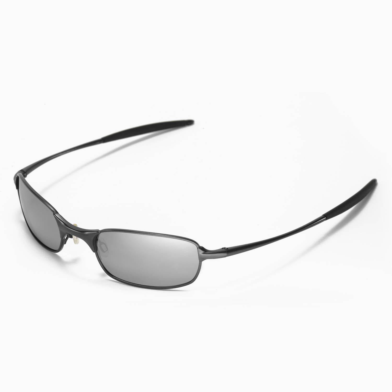 New Walleva Polarized Titanium Replacement Lenses For Oakley Square ...