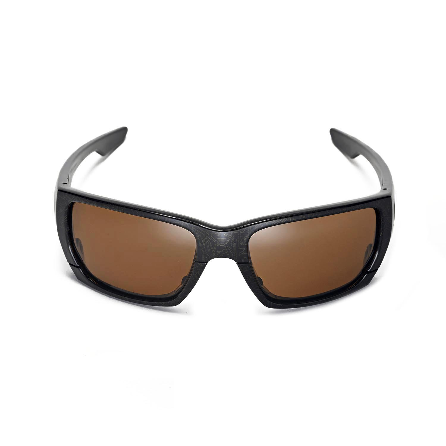 20c1669ab6c Walleva Polarized Brown Lenses for Oakley Style Switch x1  Walleva  Microfiber Lens Cleaning Cloth x1