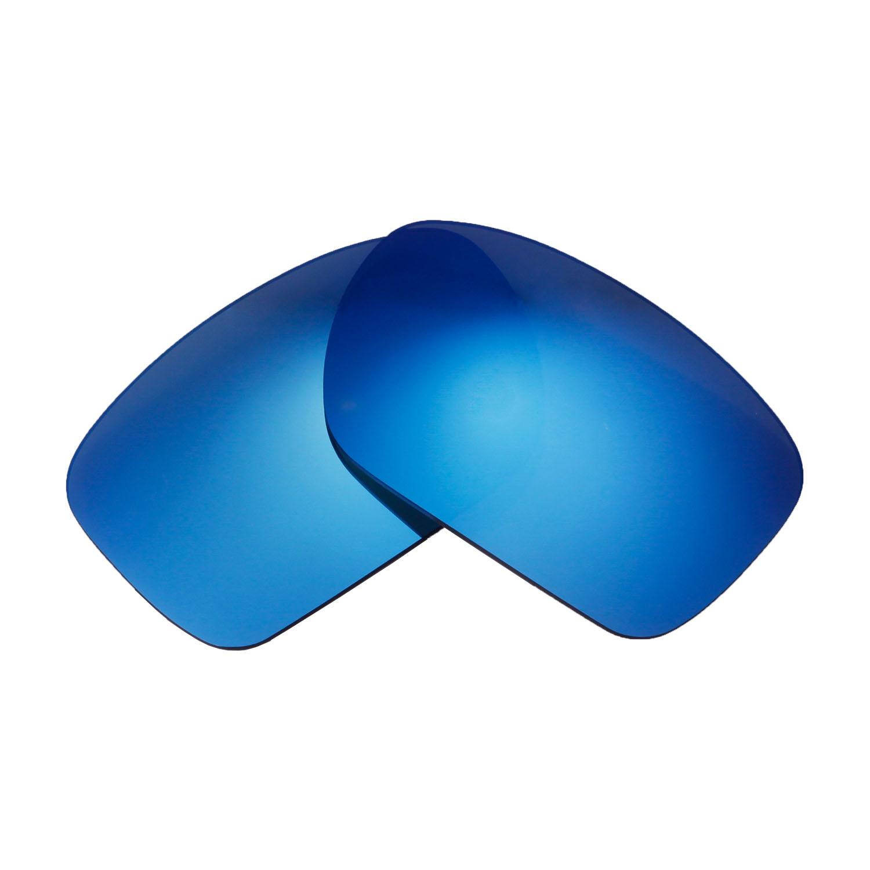 44b47419c23 Walleva Polarized Ice Blue Lenses for Oakley Turbine x1  Walleva Microfiber  Lens Cleaning Cloth x1