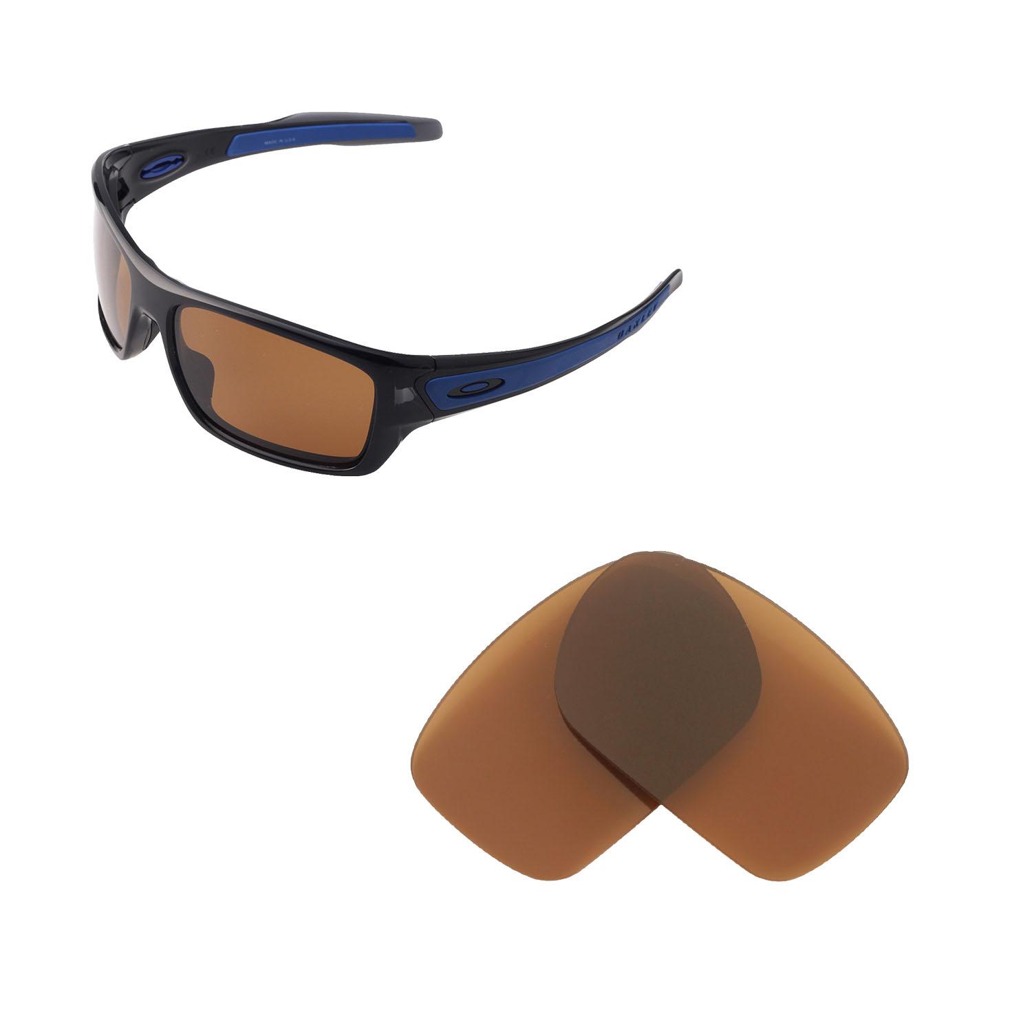 422c97f6c72 Walleva Replacement Lenses for Oakley Turbine Sunglasses-Multiple ...