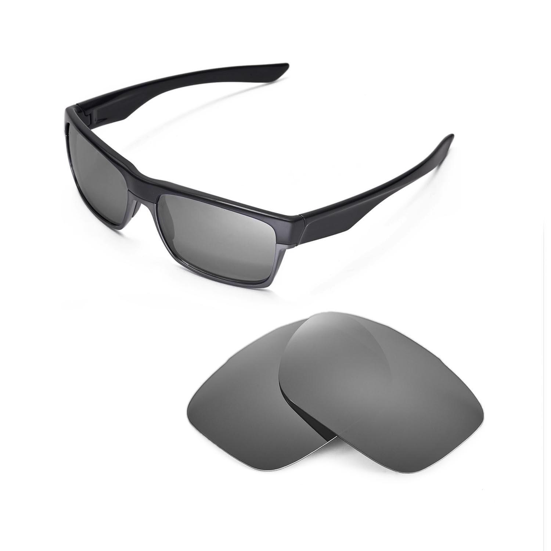 57789a73d3d Details about Walleva Titanium Replacement Lenses for Oakley TwoFace  Sunglasses