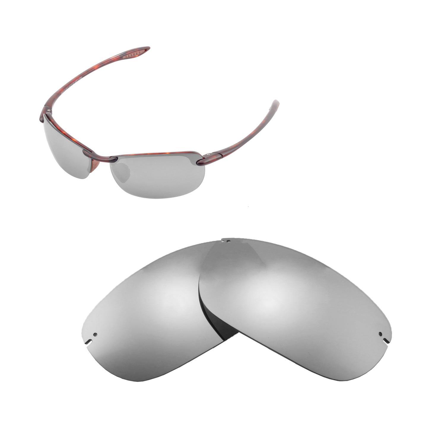 50a9caee4e6c Details about Walleva Polarized Titanium Replacement Lenses For Maui Jim  Makaha Sunglasses