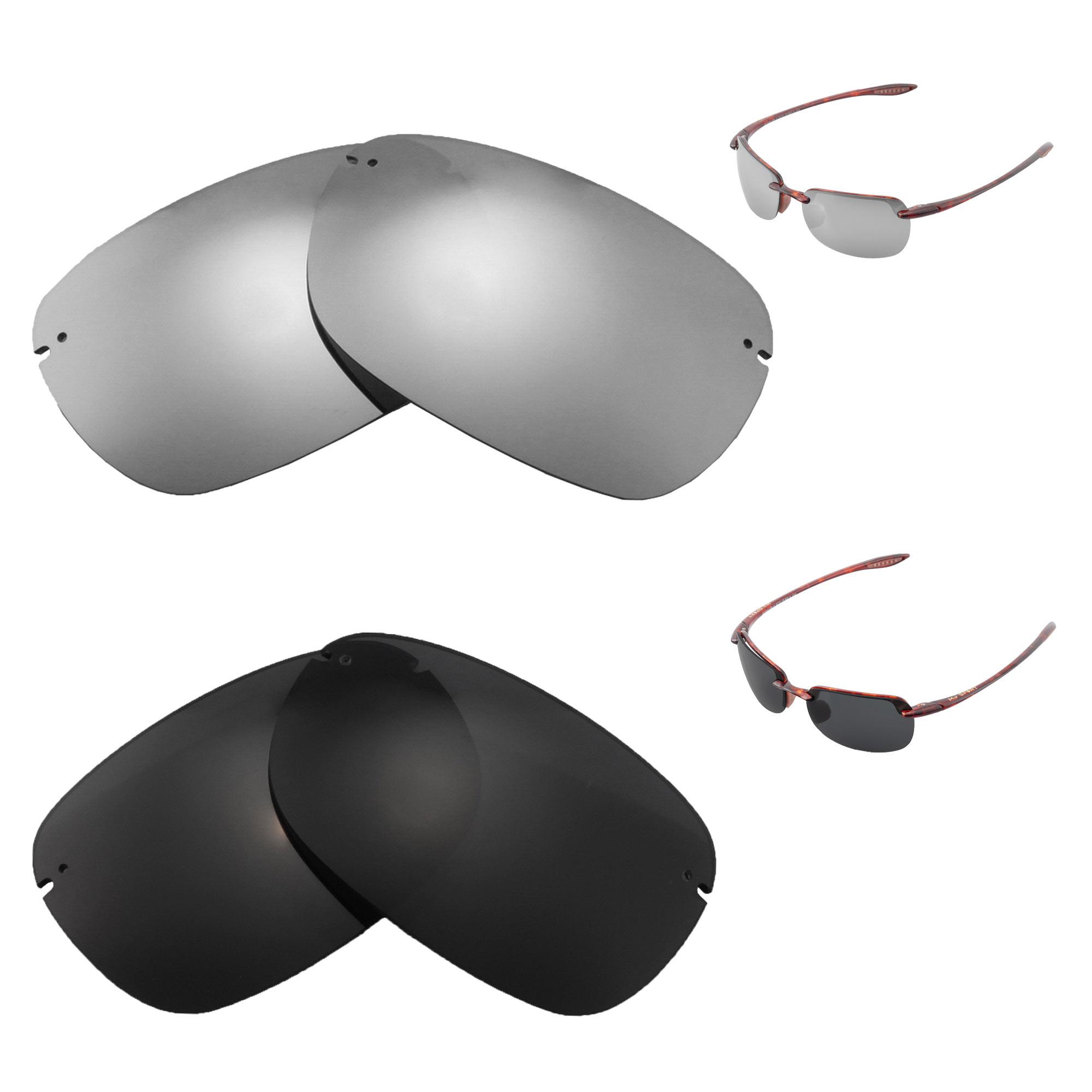 Fuse Lenses Non-Polarized Replacement Lenses for Maui Jim Guy Harvey Sailfish