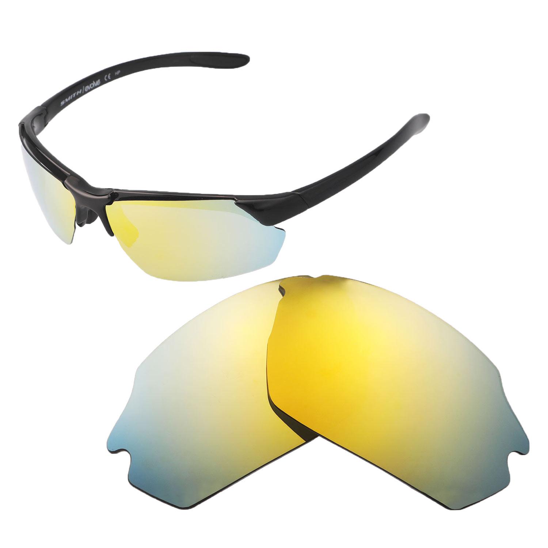 32ee54c60945 Detalles acerca de Walleva oro 24K Polarizado Lentes De Repuesto Para Smith  paralelo Max Sunglasses- mostrar título original