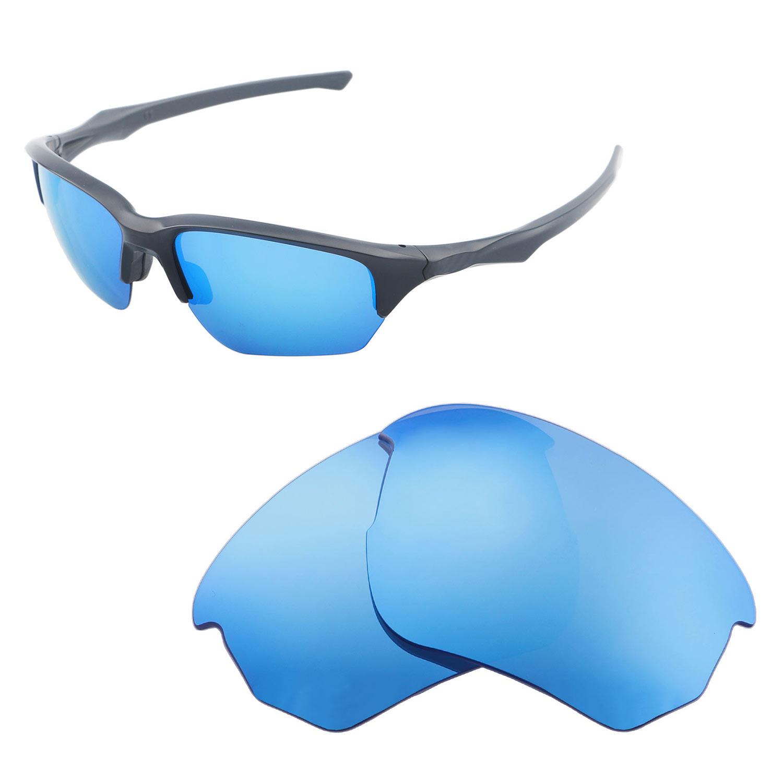 90c1dccbf4 Details about Walleva Polarized Ice Blue Replacement Lenses For Oakley Flak  Beta Sunglasses