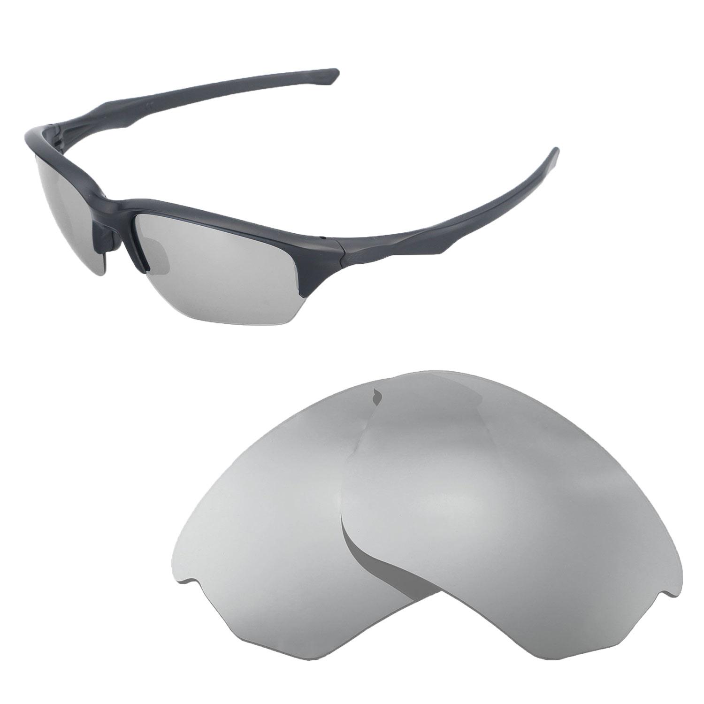 b7acadcbf51 Details about Walleva Polarized Titanium Replacement Lenses For Oakley Flak  Beta Sunglasses