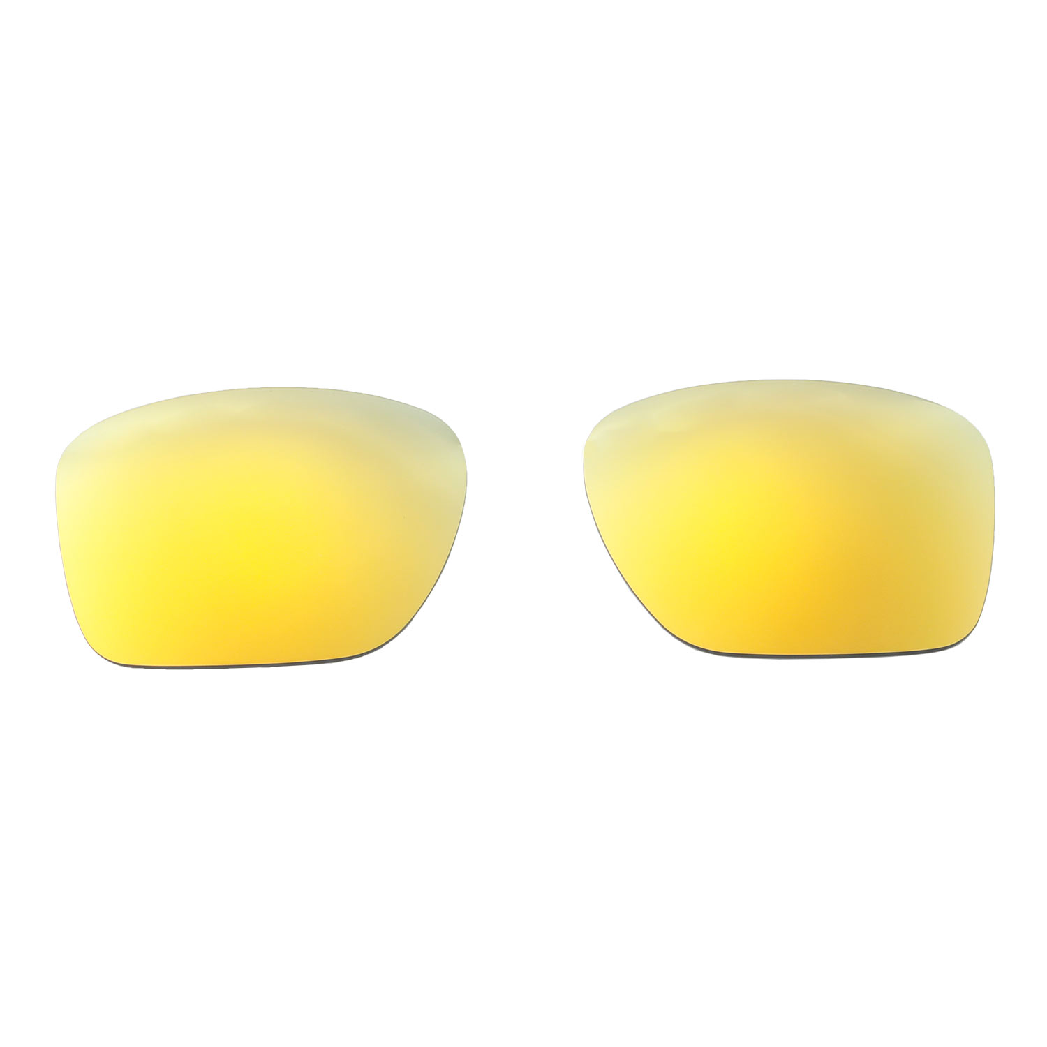 4ed29d992c620 Walleva 24K Gold Polarized Replacement Lenses For Oakley Sliver XL ...