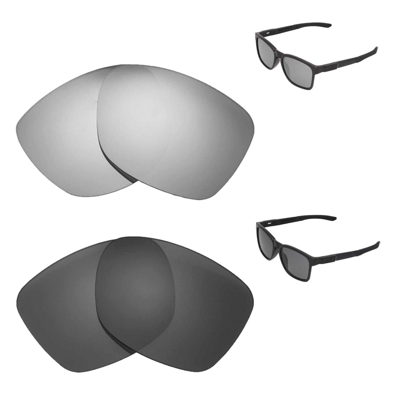 826198fade Details about Walleva Titanium + Black Polarized Replacement Lenses For  Oakley Catalyst