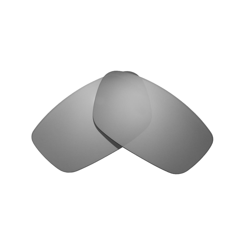 2ff16e962b Walleva Polarized Titanium Lenses for Oakley Crosslink 53 (OX8027 Series)  x1  Walleva Microfiber Lens Cleaning Cloth x1