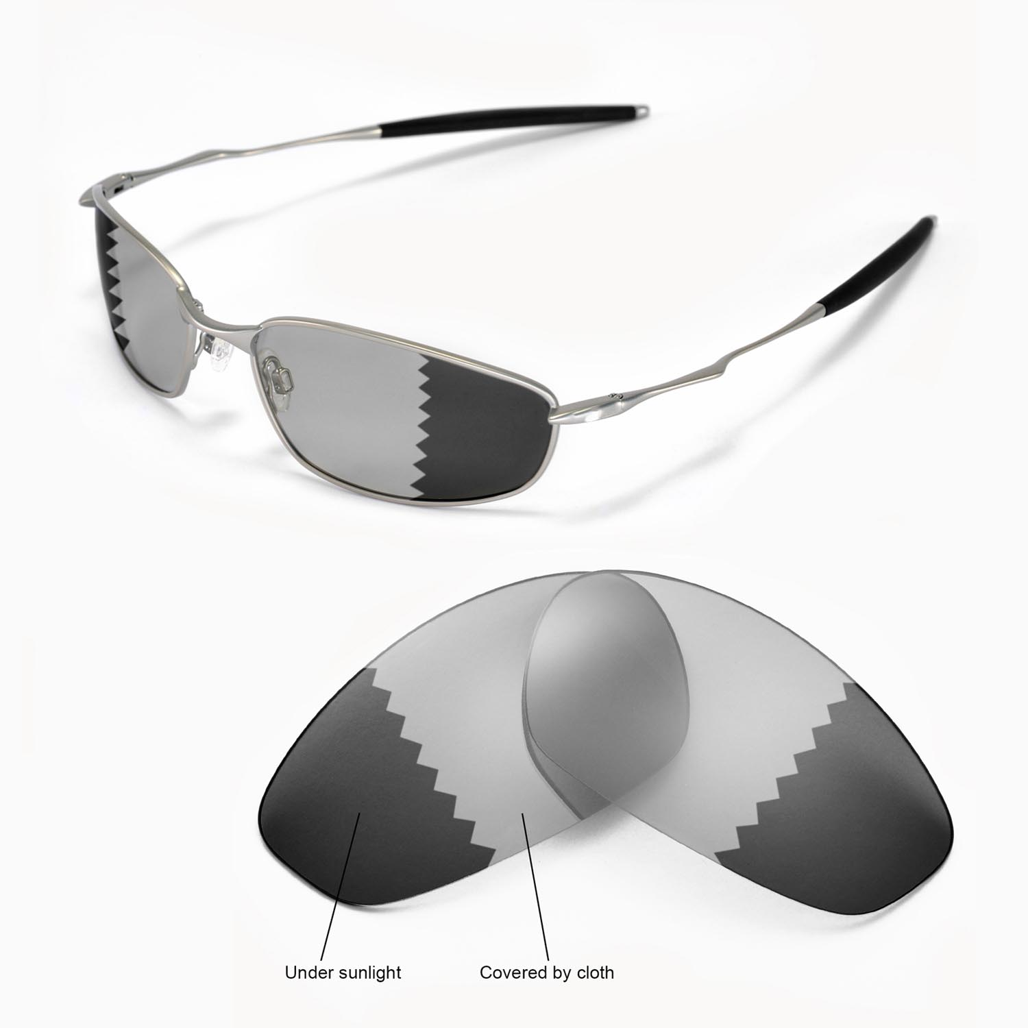 ca2cc20c5c Details about New Walleva Polarized Transition Photochromic Lenses For  Oakley Whisker