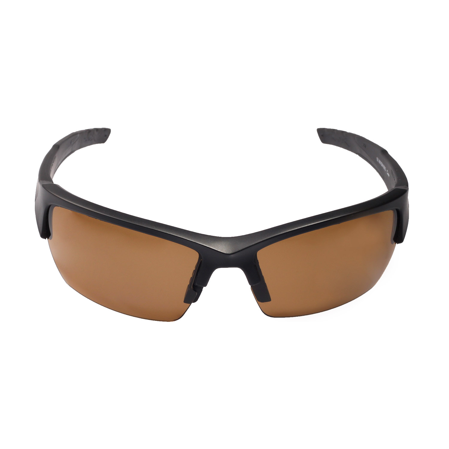 c63359064e Walleva Polarized Brown Lenses for Wiley X Valor x1  Walleva Microfiber Lens  Cleaning Cloth x1