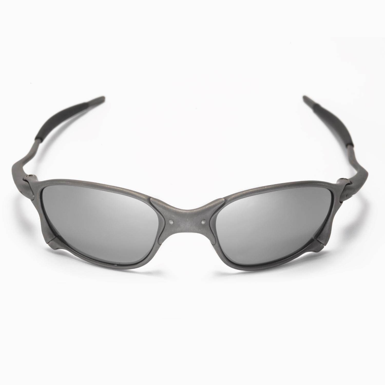 39bd83d816 New Walleva Polarized Black + Titanium Lenses For Oakley X Metal XX ...
