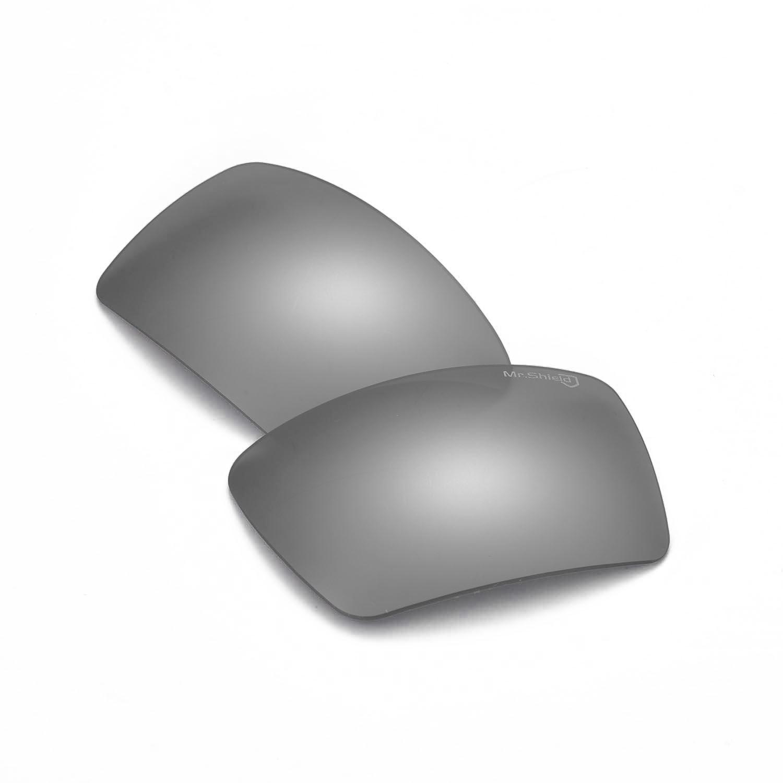 d6438787906bd Walleva Mr.Shield Polarized Replacement Titanium Lenses for Oakley ...