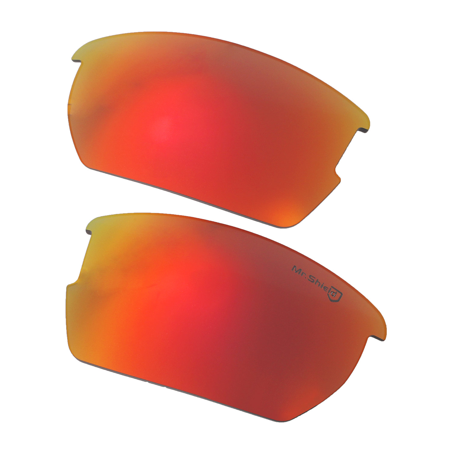 667e6c024ed Walleva Mr. Shield Polarized Fire Red Lenses for Wiley X Valor x1  Walleva  Microfiber Lens Cleaning Liquid x1